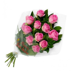 12 Rosas_send-to-albania-bouquet-of-12-pink-roses-buqete-me-trendafila