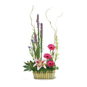 COD. MP 002_flowers-gerberas-lilies-rustic_main