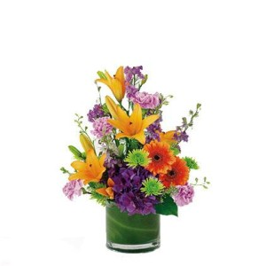 COD. MP 004_flowers-lilies-daisies-larkspur_main